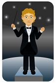 Music conductor.