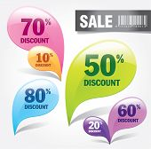 picture of save money  - discount labels - JPG