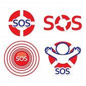 Set sign sos - the international distress signal.