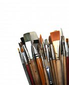 group of brushes