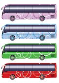 pic of motor coach  - Color city bus - JPG