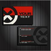 business cards set 27