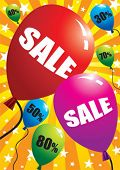 Hot sale with balloons