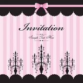 foto of wedding invitation  - cute invitation template - JPG