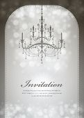 Luxury Chandelier background 05