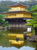 Kinkakuji (golden Temple) Kyoto, Japan