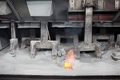 Electrochemical, Electrolytic Process Of Production Of Aluminium On Factory