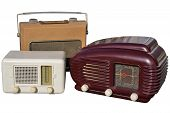 Three Retro Radios