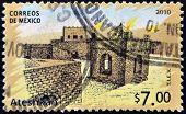 Mexico - Circa 2010: A Stamp Printed In Mexico Shows Ateshkah, Circa 2010