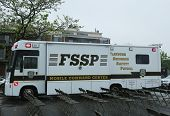 Flatbush Shomrim safety patrol mobile command center in Brooklyn