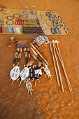 picture of zulu  - Traditional souvenirs for sale at Shakaland Zulu Village - JPG