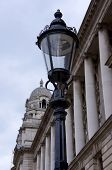 London Streetlamp And Architecture