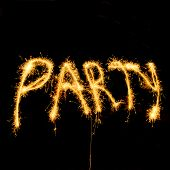 Party With Sparklers