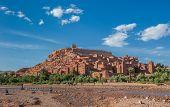 Ait Benhaddou, Traditional Berber Kasbah, Morocco