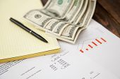 Finanzbericht-Konzept