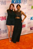 LOS ANGELES - MAY 11:  Caroline Hjelt; Aino Jawo of Icona Pop attend the 2013 Wango Tango concert produced by KIIS-FM at the Home Depot Center on May 11, 2013 in Carson, CA