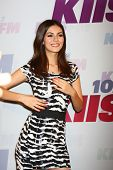 LOS ANGELES - MAY 11:  Victoria Justice attend the 2013 Wango Tango concert produced by KIIS-FM at the Home Depot Center on May 11, 2013 in Carson, CA