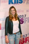 LOS ANGELES - MAY 11:  Katie Cassidy attend the 2013 Wango Tango concert produced by KIIS-FM at the