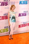 LOS ANGELES - MAY 11:  Bridgit Mendler attends the 2013 Wango Tango concert produced by KIIS-FM at the Home Depot Center on May 11, 2013 in Carson, CA