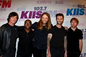 LOS ANGELES - MAY 11:  Maroon 5 attend the 2013 Wango Tango concert produced by KIIS-FM at the Home