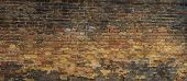 Background of brick wall texture 43 megapixels