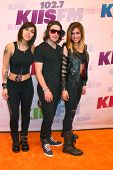 LOS ANGELES - MAY 11:  Yasmine Yousaf, Rain Man, Jahan Yousaf of Krewella attend the 2013 Wango Tang