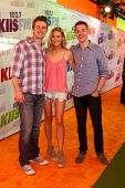 LOS ANGELES - MAY 11:  Robert Buckley, Stephanie Pratt, Jason Kennedy attend the 2013 Wango Tango concert produced by KIIS-FM at the Home Depot Center on May 11, 2013 in Carson, CA