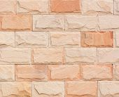 Close Up Brick-wall For Use Texture Or Background