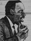 Retrato de Martin Luther King
