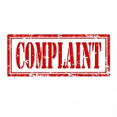 Complaint-stamp