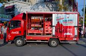Coka Cola truck
