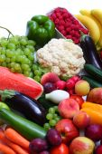 Fresh Vegetables And Fruits
