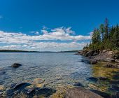 Chippewa-Hafen, Isle Royale Nationalpark, mi