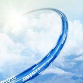 Cloud-Daten-Basis-Konzept