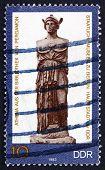 Postage Stamp Gdr 1983 Statue Of Athena, Greek Goddess