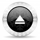 eject christmas icon