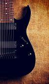stock photo of nu  - black electric eight - JPG