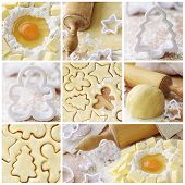 picture of shortbread  - the traditional preparation of shortbread from the molds - JPG