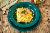 Macaroni Cheese Or Spatzle Egg Noodle