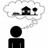 Man dream house
