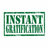 Instant Gratification-stamp