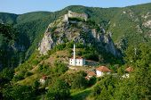 fortress and mosque in Hisardzik, Serbia