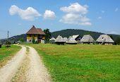 Kamena Gora wooden village, Serbia