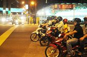 Moto Traffic In Asia