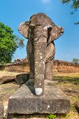 Elephant statue at  East Mebon Part, Angkor