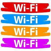 wi-fi banners set