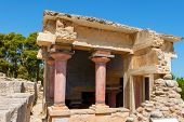 Lustral Basin. Palace Of Knossos, Crete, Greece