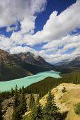 Peyto Lake & Caldron Peak, Banff National Park, Alberta, Canada