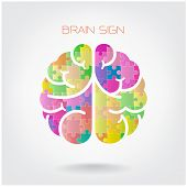 Creative Jigsaw  Brain Sign