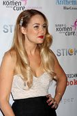 LOS ANGELES - OCT 13:  Lauren Conrad arrives at the Susan G. Komen 'Designs for the Cure' Gala at Mi